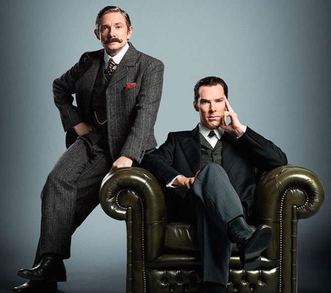 'Sherlock' co-stars Benedict Cumberbatch and Martin Freeman are 'hardly close'