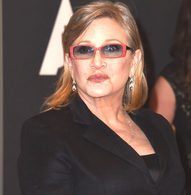 'Star Wars' star Carrie Fisher cremated