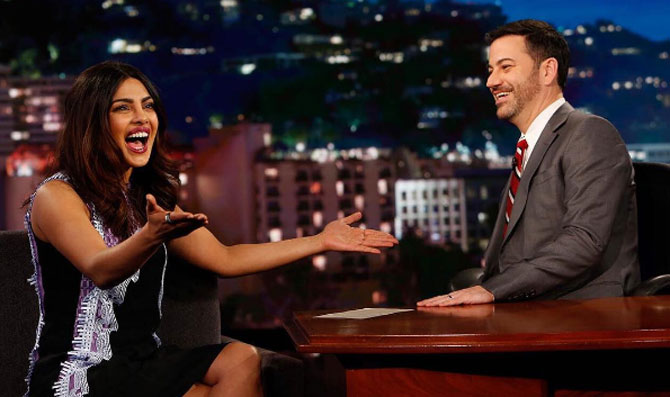 Bollywood is really actor-driven: Priyanka tells Jimmy Kimmel