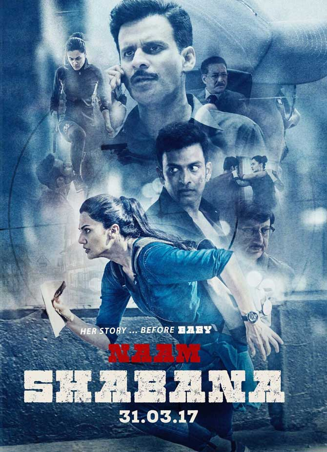 First poster of 'Naam Shabana'