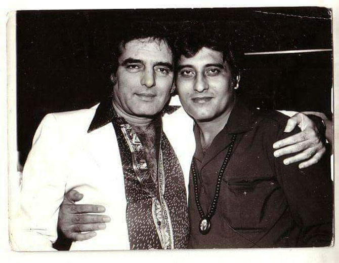 Feroz Khan and Vinod Khanna