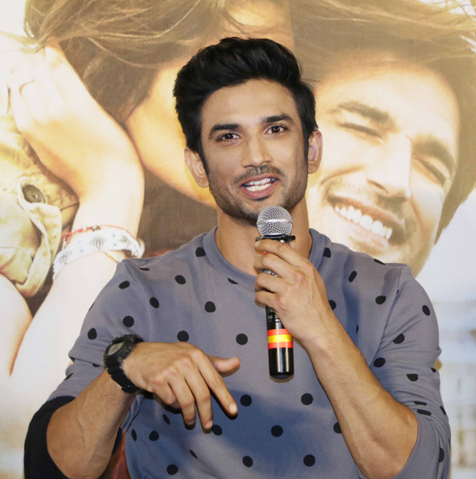 Sushant Singh Rajput responds to allegations of abusing his fans