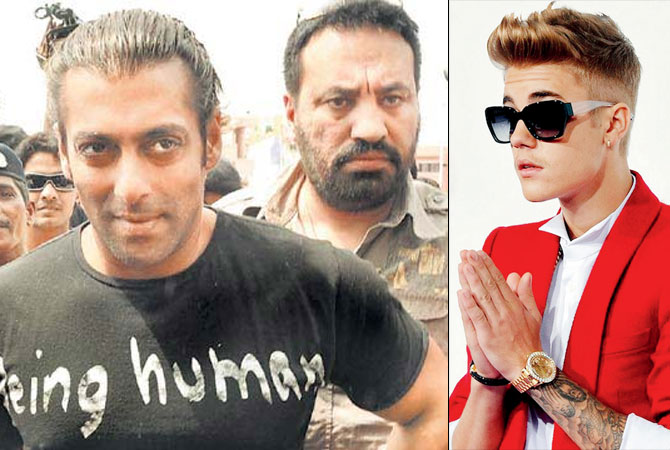 Now, Salman Khan's bodyguard Shera will 'protect' Justin Bieber