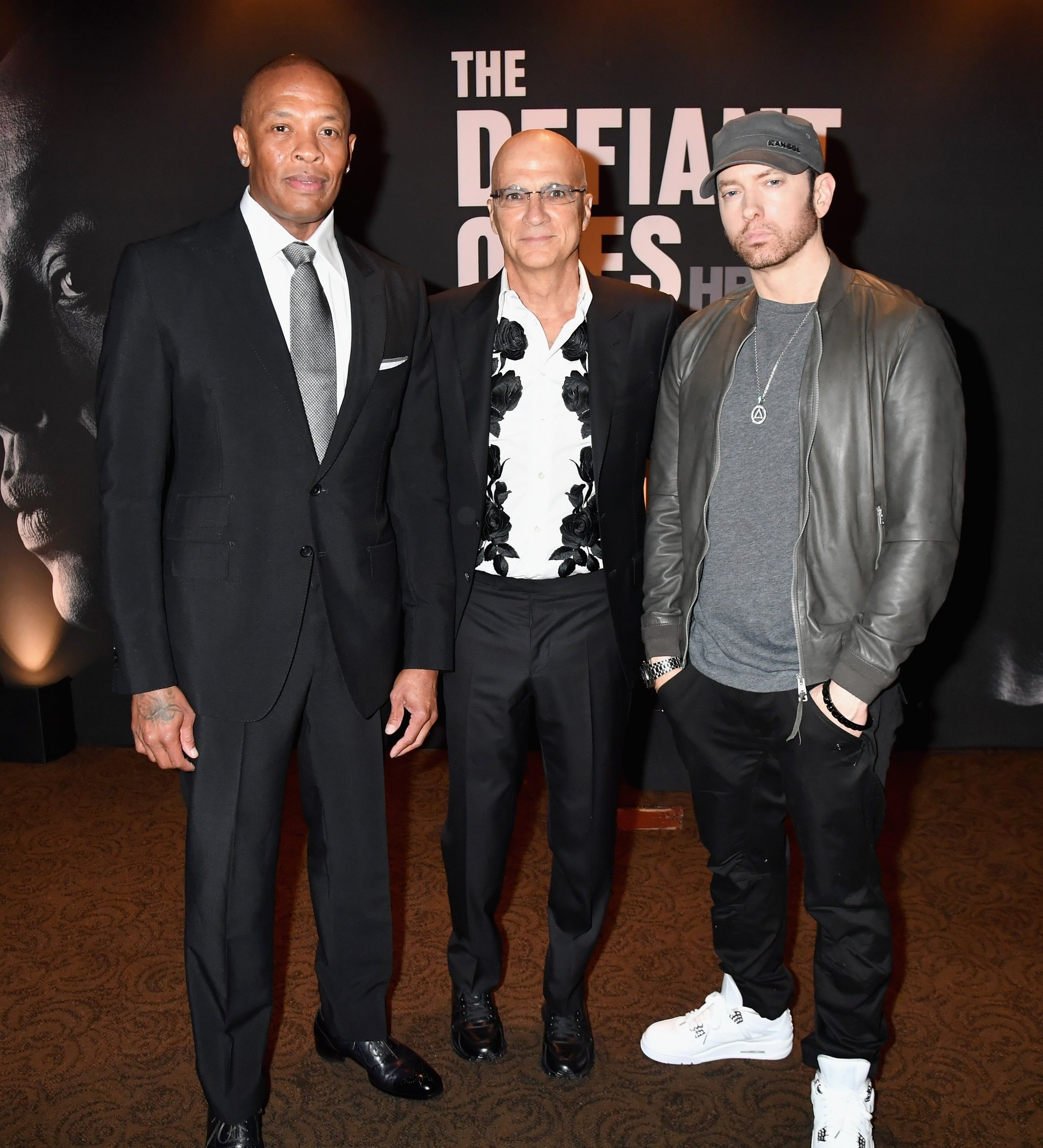 Eminem Appears With Unwanted Hair On His Face And I Don't Know If It's A Beard