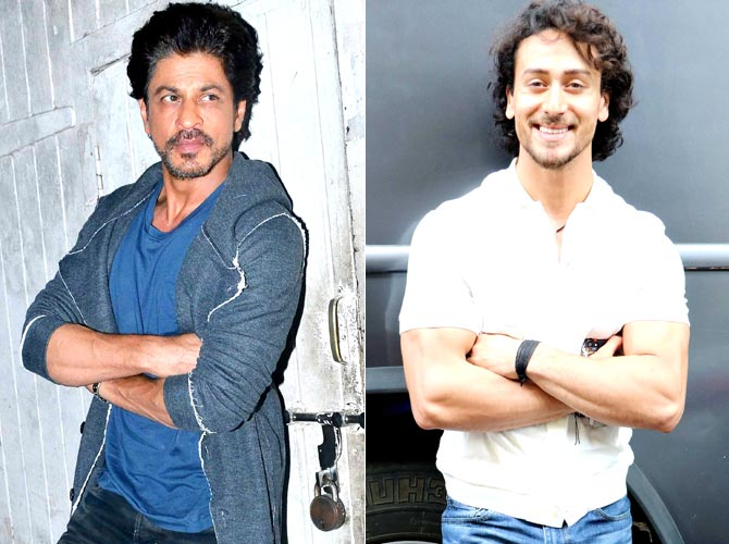 Shah Rukh Khan and Tiger Shroff