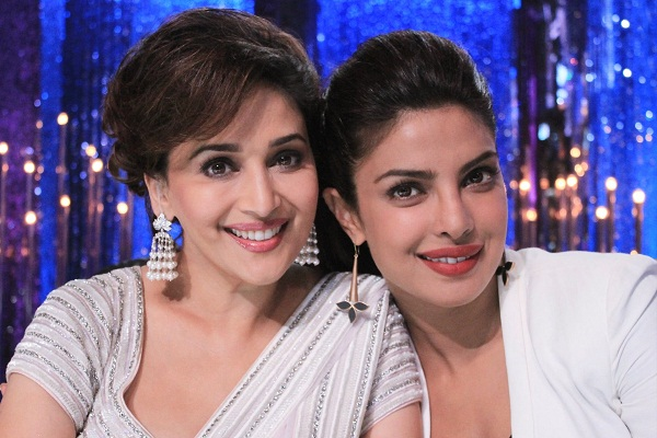 Priyanka Chopra and Madhuri Dixit