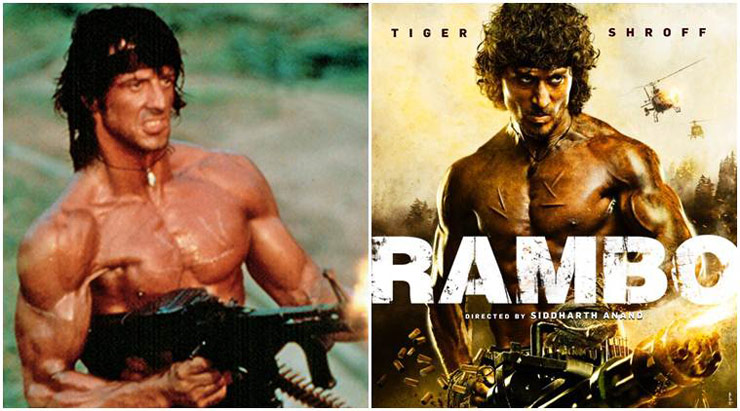 Sylvester stallone's cameo in tiger shroff's rambo