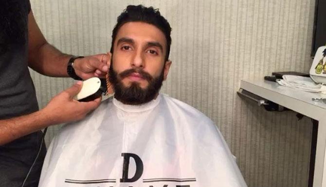 This video of Ranveer Singh shaving off his beard is breaking the internet, but he isn't happy