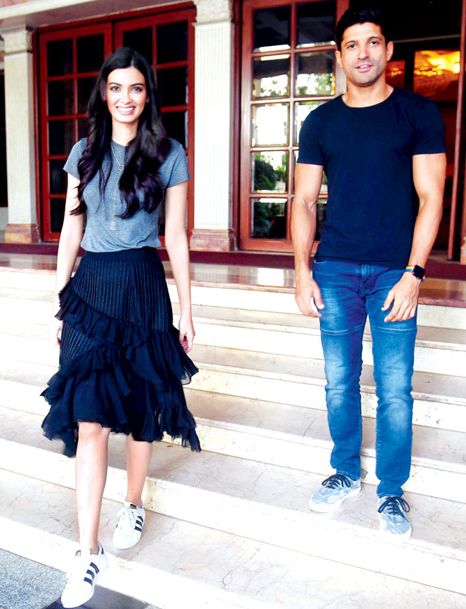 Farhan Akhtar and Diana Penty