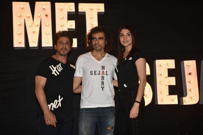 SRK-Imtiaz Ali