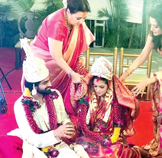 Riya Sen and beau Shivam Tewari