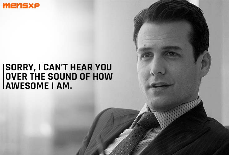 Quotes By Harvey Specter From 'Suits' That Prove A Killer Attitude Is The Key To Success