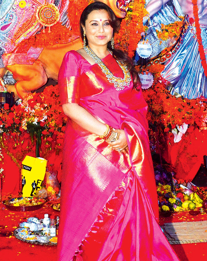 Rani Mukerji: My parents met and fell in love during Durga Puja festivities