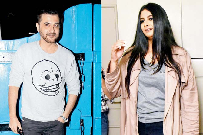 Sanjay Kapoor and Rhea Kapoor