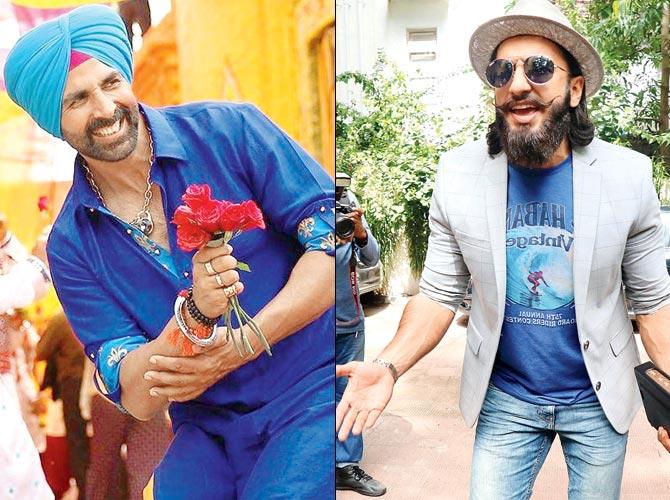 Akshay Kumar and Ranveer Singh