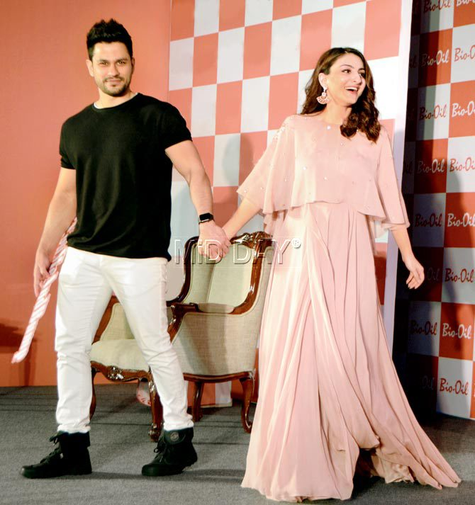Kunal Kemmu and Soha Ali Khan