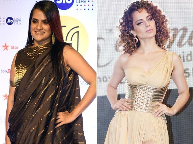 Sona Mohapatra and Kangana Ranaut