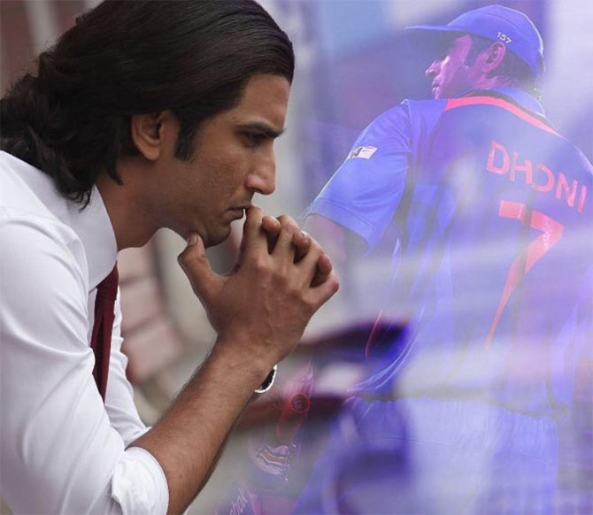 Sushant Singh Rajput in a still from 'MS Dhoni: The Untold Story'