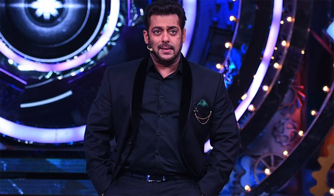 'Bigg Boss 11' host Salman Khan. Pic courtesy official Twitter account of @ColorsTV
