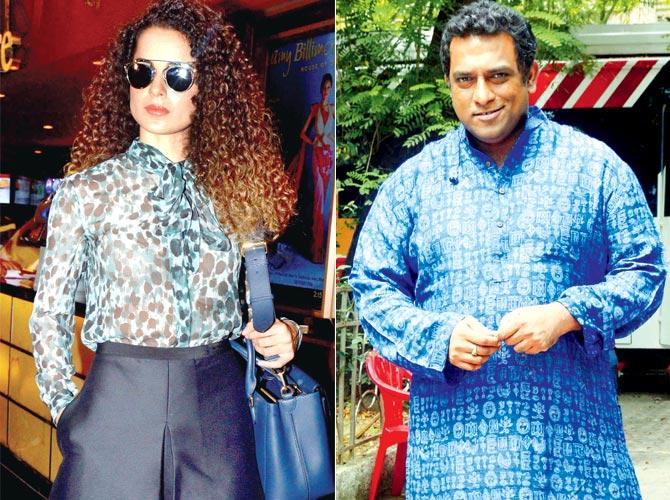 Kangana Ranaut and Anurag Basu