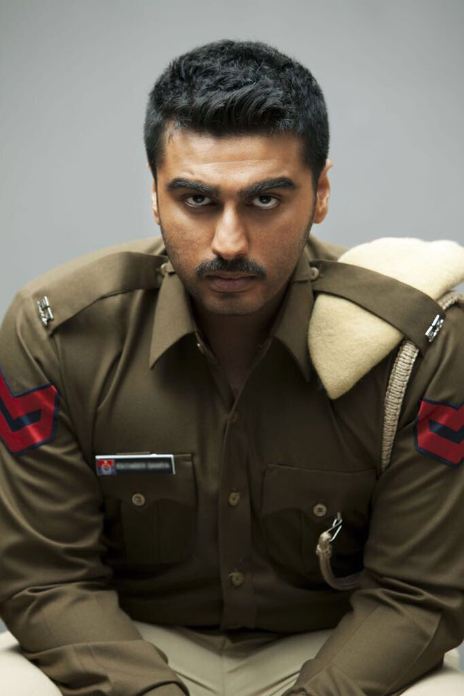Arjun Kapoor's tough cop look from 'Sandeep Aur Pinky Faraar' is intriguing