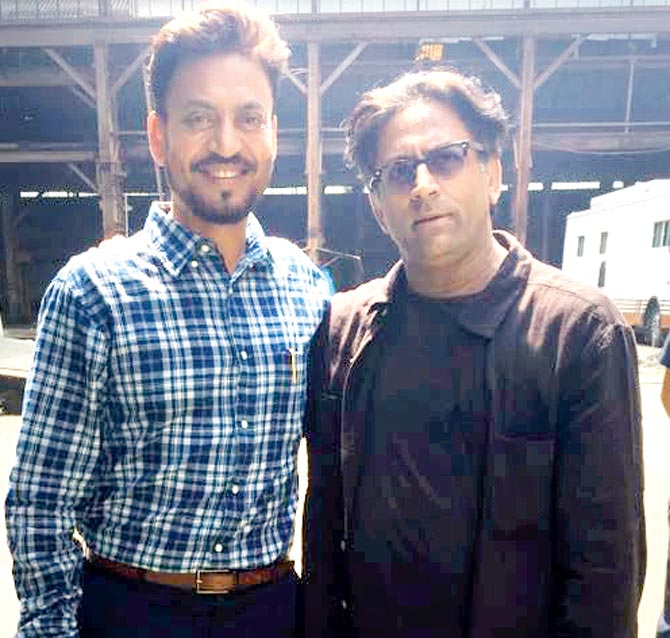 Irrfan Khan and Ram Madhvani