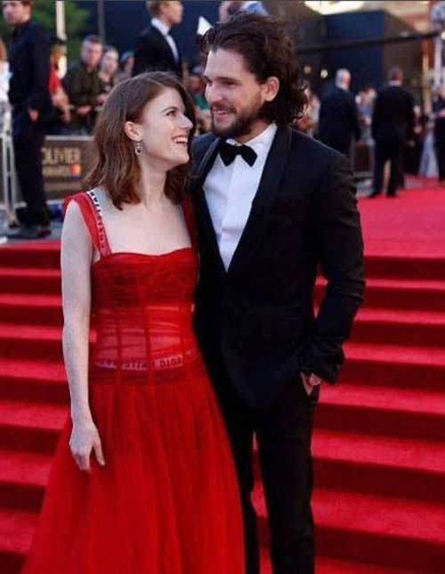 Game Of Thrones Actors Kit Harington And Rose Leslie Are Distant Relatives