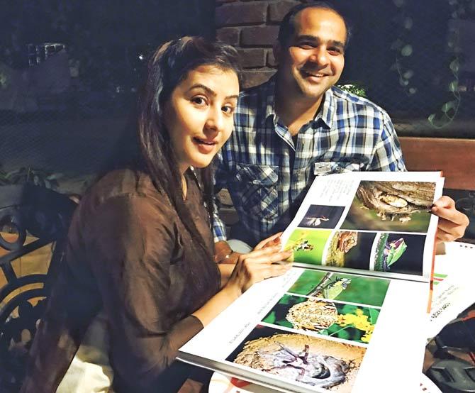 Shilpa Shinde with brother Ashutosh